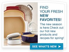 new products! To see more details go to www.pamperedchef.biz/carolgerke
