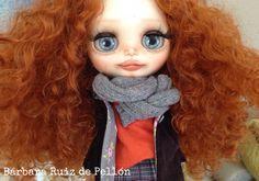 OOAK custom Blythe , Eva