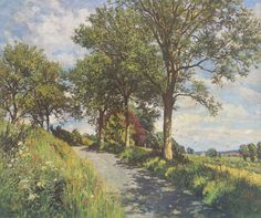 James McIntosh Patrick Summer in Angus Signed Limited Edition Print | Scottish Contemporary Art