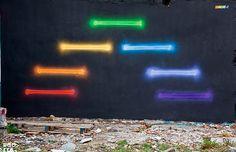 "Shok-1 ""X-Ray"" Mural In London"