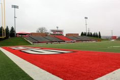 Wickes Stadium, the home of Saginaw Valley State football. (RoadTripSports photo by Matthew Postins)