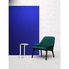 Kvadrat textiles on the Plum chair. An Adam Goodrum design for Cult