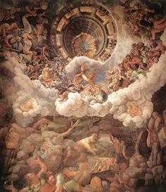 Giulio Romano, Caduta dei Giganti, Palazzo Te, Mantova