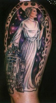 Hannah Aitchison star wars princess r2d2