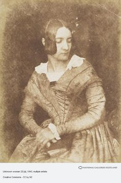 Old Photographs, Old Photos, Vintage Photos, Victorian Photography, Vintage Photography, 1850s Fashion, Ladies Day Dresses, Gallery Of Modern Art, 19th Century Fashion