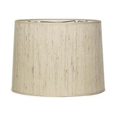 "16"" Grasscloth Drum Shade - 3 Colors"