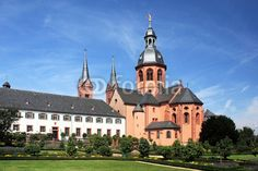 Seligenstadt is a town in Hesse, Germany and is one of Germany's oldest towns. The Benedictine abbey in Seligenstadt with the Einhard-Basilika.