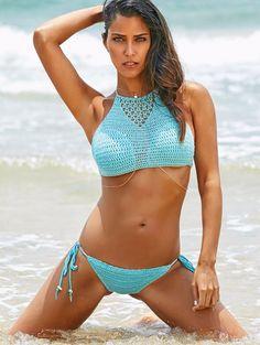 $24.59 (Buy here: https://alitems.com/g/1e8d114494ebda23ff8b16525dc3e8/?i=5&ulp=https%3A%2F%2Fwww.aliexpress.com%2Fitem%2FSexy-Handmade-Crochet-Bikini-Women-Chic-Halter-High-Neck-Crochet-Swimsuit-Brazilian-Biquini-2016-Summer-Swimwear%2F32734876438.html ) Sexy Handmade Crochet Bikini Women Chic Halter High Neck Crochet Swimsuit Brazilian Biquini 2016 Summer Swimwear Bathing Suit for just $24.59