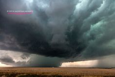 Supercell near Denver, Colorado. May 21st 2014.