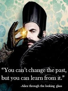 Alice through the looking glass quote