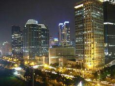 Jakarta city by night