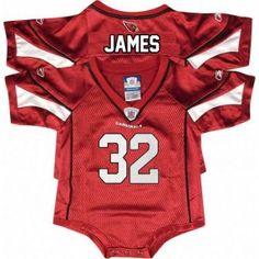 Arizona Cardinals Infant Edgerrin James #32 Jersey