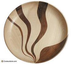 Wave work- Wood colors n ° 100 – Turning … Wave work! Woodworking Supplies, Custom Woodworking, Woodworking Plans, Wood Turning Projects, Wooden Projects, Texture Painting, Painting On Wood, Bandsaw Projects, Wood Lathe