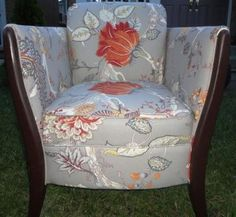 Jags Furniture Reupholstery - Chair reupholstery samples--looks similar to uptairs chair