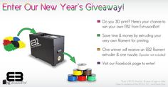 ExtrusionBot's New Year EB2 Giveaway