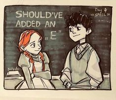 Gilbert Blythe, Amybeth Mcnulty, Gilbert And Anne, Anne White, Wallpaper Animes, Anne With An E, Anne Shirley, Kindred Spirits, Film Serie