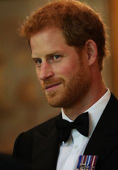 Prince Harry attends a reception at Trinity House in London for Project Vernon, a campaign to install a monument dedicated to the heritage of HMS Vernon | July 19, 2017