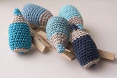 Pencil: free pattern --- Lapicero, patrón gratis. Crochet (El Gallo Bermejo)