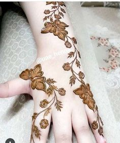 Beautiful Hand Mehndi designs