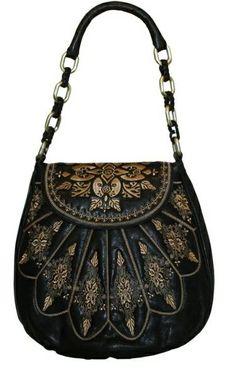Isabella Fiore Liz Tattoo Handbag - Purses, Designer Handbags and Reviews at The Purse Page