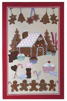Beauville Gretel #Christmas Tea Towel