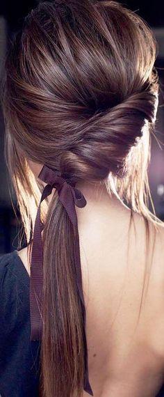 Cute Hairstyles, Wedding Hairstyles, Bad Hair, Bridesmaid Hair, Hair Today, Hair Dos, Hair Trends, Bridal Hair, Hair Inspiration