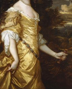 Frances Teresa Stuart, Duchess of Richmond, (c.1662), detail, by Sir Peter Lely (14 September 1618 – 30 November 1680)