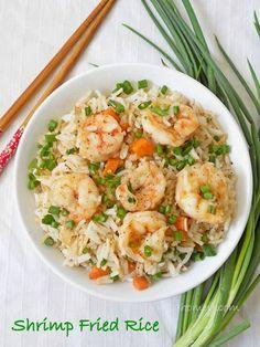 Shrimp Fried Rice Recipe....from scratch!!