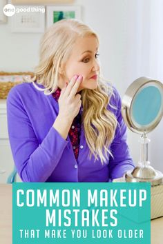 For me, the tweaks I've made to my makeup routine to avoid #2 and #6 have already made a huge difference! Beauty Care, Beauty Makeup, Beauty Hacks, Hair Makeup, Beauty Tips, Beauty Ideas, Diy Beauty, Eye Makeup, Makeup Mistakes