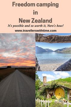 A complete guide to freedom camping in New Zealand. it is possible to freedom camp but you need to know the rules to avoid fines! Use our tips and tricks to find the best freedom camping spots in the country! Camping New Zealand, New Zealand Travel, Camping Places, Go Camping, Camping Cabins, Camping Spots, World Most Beautiful Place, Beautiful Places, Australia Travel
