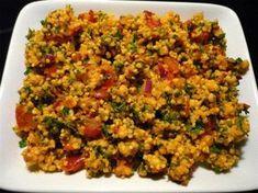 Das perfekte Hirse - Salat-Rezept mit Bild und einfacher Schritt-für-Schritt-Anleitung: Hirse nach Anweisung zubereiten, auskühlen lassen.