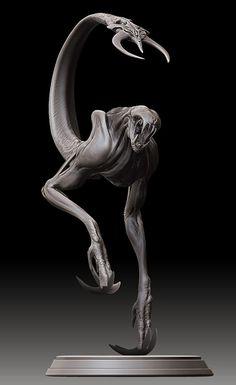 mud demon by Jerad S. Marantz for Riddick