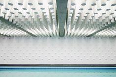 La piscine du centre Atlas Sports à Paris en France