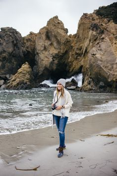 Gal Meets Glam Essential Guide to Big Sur California: Pfeiffer Beach Must See Photo Spot