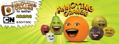 The Annoying Orange's Facebook cover