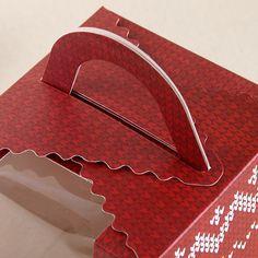 厂家直销质量保证精美新款开窗手提圣诞苹果礼品节日包装盒