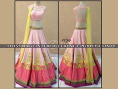 Savvys Saree Bollywood Indian Designer Sari Party Wear Women Lehenga KT-2017 #SavvysStore #LehngaCholi #PartyWearBridalWeddingFestivalReception