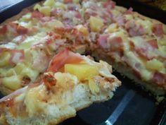 pizza hut original pan crust pizza recipe! make it at home! Caption: yummylicious!