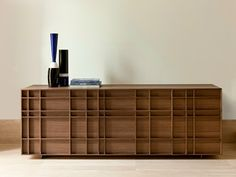 Kilt Sideboard by Porada. Like creating an optical illusion, the Kilt sideboard has a grooved front that makes it appear like small shelves in different Sideboard Furniture, Table Furniture, Luxury Furniture, Contemporary Furniture, Home Furniture, Furniture Design, Modern Sideboard, Furniture Showroom, Sideboard Buffet