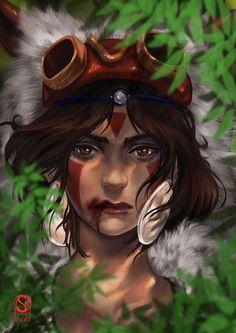 Princess Mononoke (Ghibli) - San