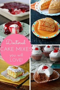 Doctored Cake Mix Ca