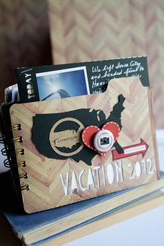 Silhouette Blog: Friday Feature :: Vacation Mini Album