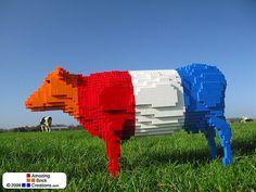 Dutch LEGO Cow | Flickr - Photo Sharing!