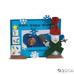 Holiday+Marshmallow+Picture+Frame+Craft+Kit+-+OrientalTrading.com