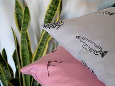 Valley Pillow Cover made from cotton Funda de cojín por FaroStore.net Cactus  #cactus #cacti #pattern