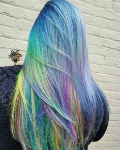 Rainbow after the storm ☪️ #btconeshot_rainbow16 #btconeshot #oneshot #btconeshot_creativecolor16 #behindthechair @behindthechair_com #hairbykaseyoh #arcticfoxhaircolor #manicpanic #brazilianbondbuilder #b3 #rainbowhair #mermadians #mermaidhair #silverhair