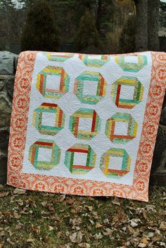 PDF QUILT PATTERN, baby or lap quilt pattern....Layer Cakes, Honey Buns or Fat Quarters, Journey