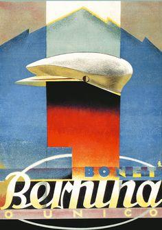 Bernina by Fred Kradolfer, 1940