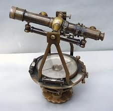 vintage surveyor compass. The Lord will help you find the way.