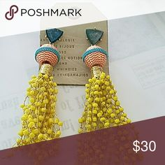 "Anthropologie earrings NWT anthropologie earrins 4"" long Jewelry Earrings"